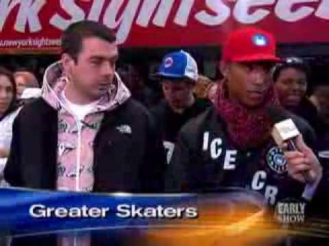 Pharrell Ice Cream Skate Team