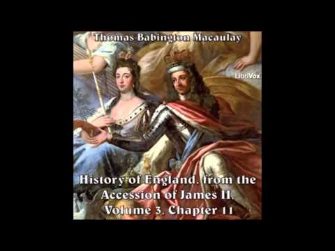 History of England from the Accession of James II, vol3 chapter11 parts 1-5