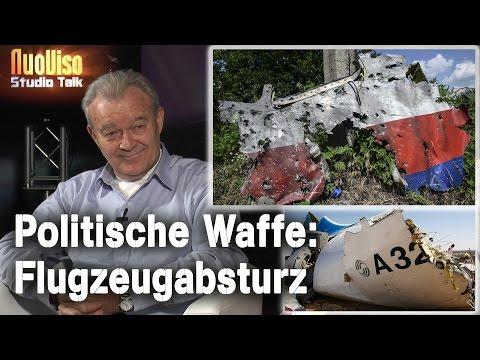Politische Waffe: Flugzeugabsturz - Peter Haisenko im NuoViso-Talk