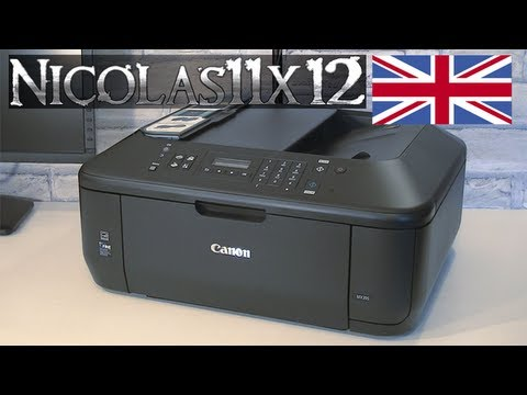 canon pixma mx395 all in one printer review youtube. Black Bedroom Furniture Sets. Home Design Ideas