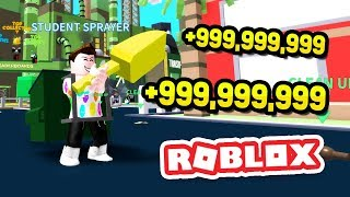 +$999999 *RICHEST* PLAYER IN ROBLOX GARBAGE SIMULATOR