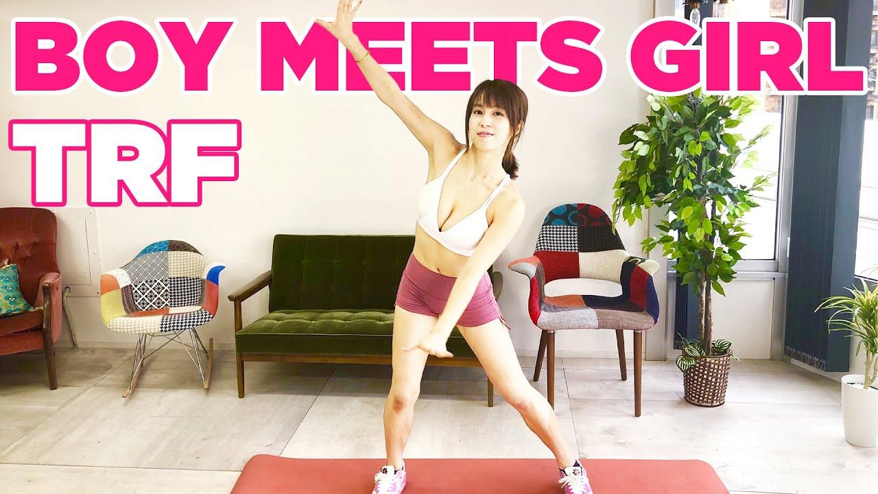 【ダイエット】TRFのBOY MEETS GIRLを全力で踊る!【ダンスエクササイズ】