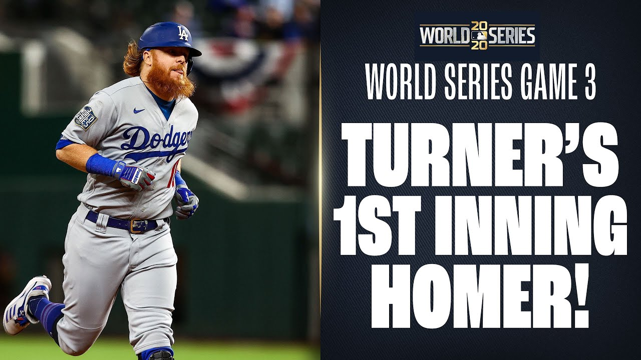 Justin Turner goes deep in 1st to put Dodgers up in World Series Game 3! – MLB