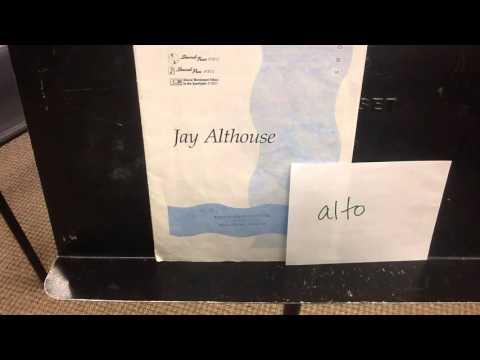 Cantar by Althouse, alto