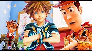 KINGDOM HEARTS 3 NEW Gameplay Walkthrough Demo PS4 No Commentary (Toy Story) 2018