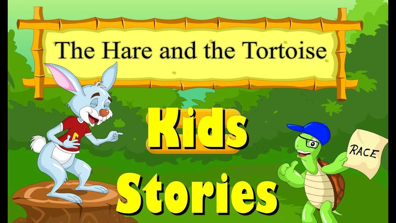 Short Stories for Kids (Moral Stories) | The Hare and Tortoise ...