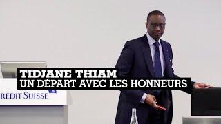 Tidjane Thiam Quitte Le Crédit Suisse Après Des Résultats Record