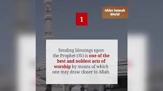 Why do we send Blessings upon Prophet (PBUH) presented by Ahlus Sunnah World