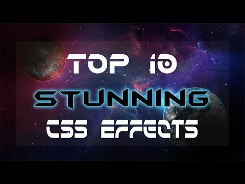 Top 10 cool css animation | cool css effects 2019 | Stunning css animations