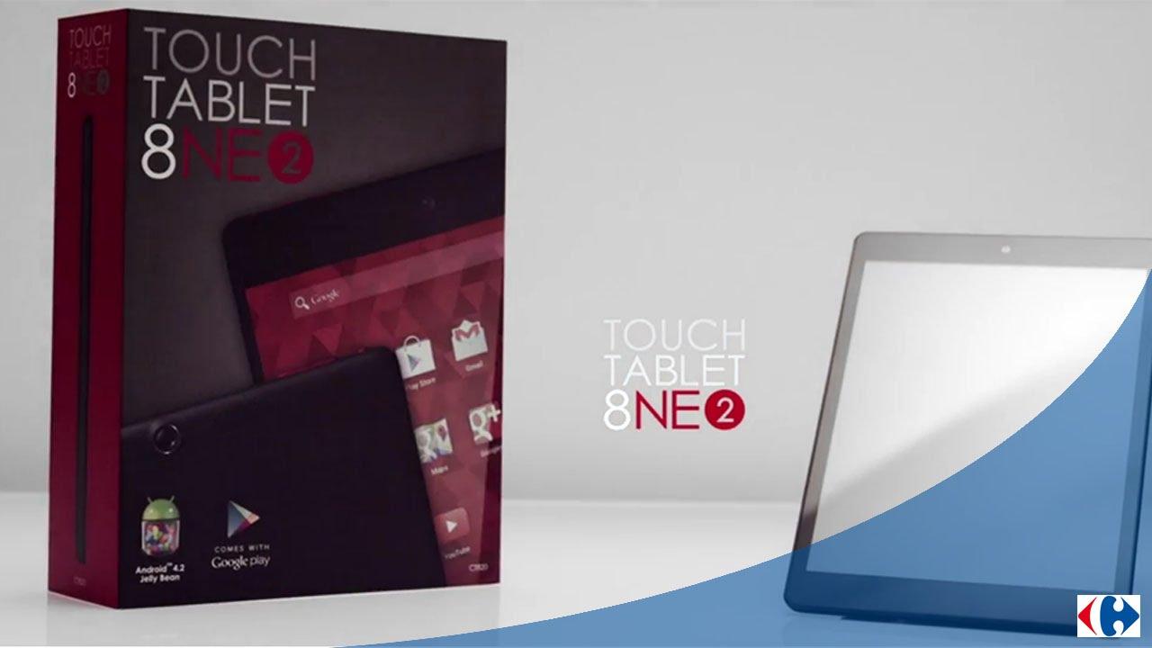 la tablette 8 pouces 820 design by carrefour 016 youtube. Black Bedroom Furniture Sets. Home Design Ideas