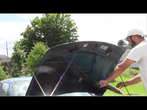 how-to-remove-heat-shield-hood-insulation