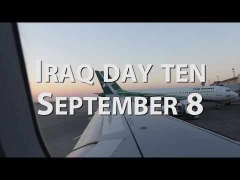 The adventure ends - My last Iraq vlog