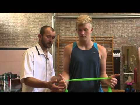 CDDFT Physiotherapy: Shoulder Functional Movement Exercise - Step and Reach