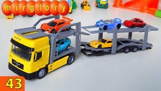 Автовоз, автосалон - мультфильм про машинки - Город машинок 43 серия. Развивающие мультики mirglory