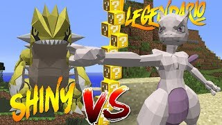ULTRA LEGENDARIO vs ULTRA SHINY 🐶🤩 LUCKY BLOCKS POKÉMON