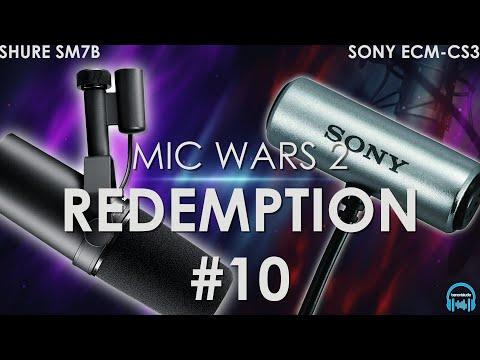 MIC WARS 2 | SHURE SM7B vs. SONY ECMCS3 Lav Mic