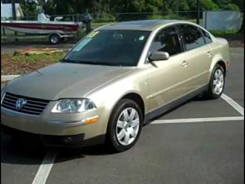 used Volkswagen VW Passat Gainesville Fl call (352) 682-8667 1-866-371-2255
