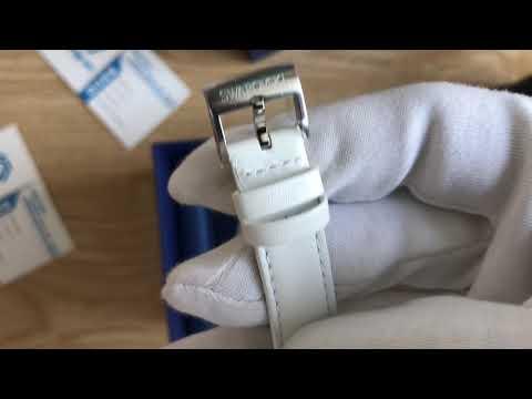 Xship.vn: Swarovski Playful Lady White Ladies Watch 5243053