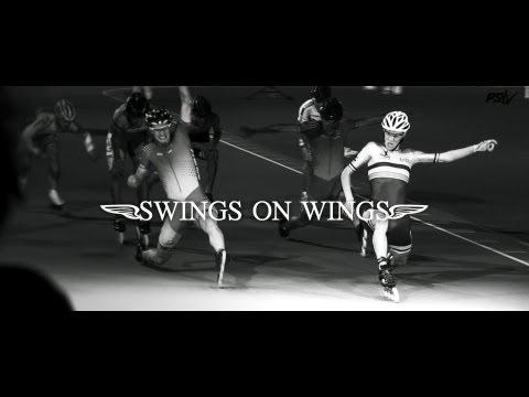 Swings on wings - Bart Swings Speed Skating Worlds Oostende 2013