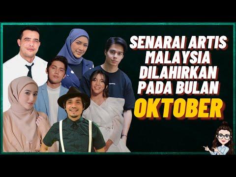 Senarai Artis Malaysia Lahir Pada Bulan Oktober (Zul Ariffin, Sweet Qismina, Hannah Delisha)