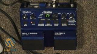 DigiTech JamMan Looper Pedal Demonstration