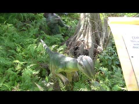 Dryptosaurus at Dinoaur World FL
