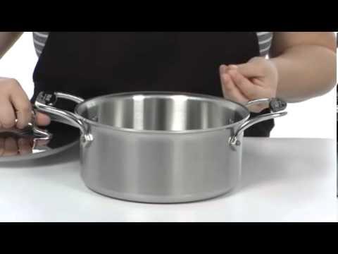 All Clad D5 Brushed 3 Qt Soup Pot With Lid And Ladlesku