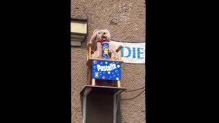 Pustefix Seifenblasen Bär bei der Augsburger Puppenkiste