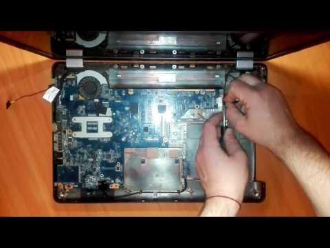 Как разобрать ноутбук Compaq Presario CQ56