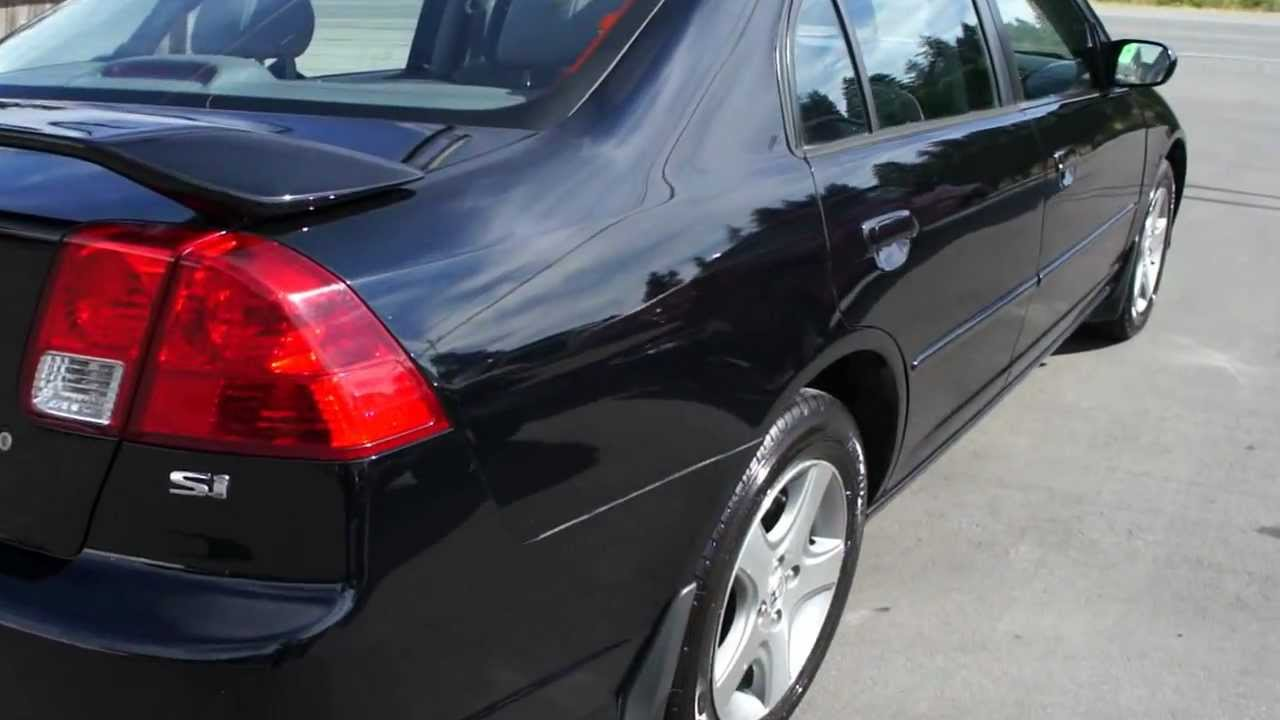 Great 2005 HONDA CIVIC SI 4 DOOR AT KOLENBERG MOTORS LTD   YouTube