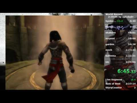 Prince of Persia Warrior Within Speedrun NMG in 2:33:30