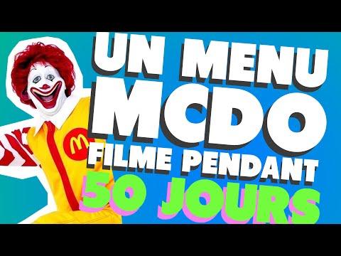 UN MENU MCDO FILMÉ PENDANT 50 JOURS (LES ETRANGES EXPERIENCES)