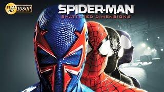 Spiderman Shattered Dimensions Full Movie Pelicula Completa Español All Cutscenes 1080p