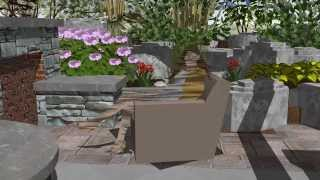 3d Virtual Landscape Design Of Cambridge Property