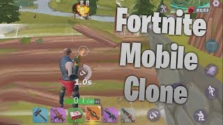 NEW FORTNITE MOBILE CLONE! Fortcraft Gameplay and How To Download