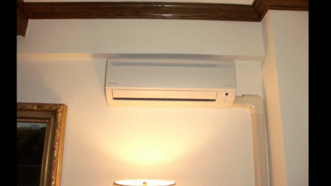 Customs Installation Of Ductless Mini Split In Nycwmv Youtube