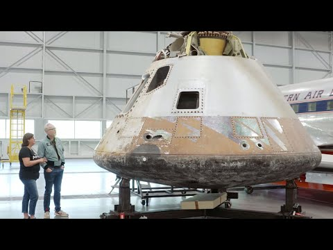 Adam Savage Visits National Air and Space Museum's Restoration Hangar!