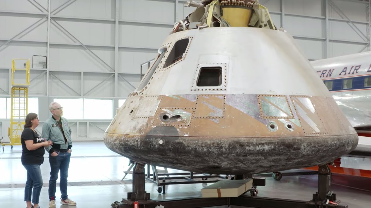 Adam Savage Visits National Air and Space Museum's Restoration Hangar!