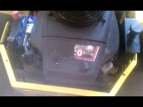 25 Hp Kawasaki manual Fh721v hard Start kit