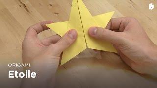 Origami : Faire Une étoile En Papier - Hd