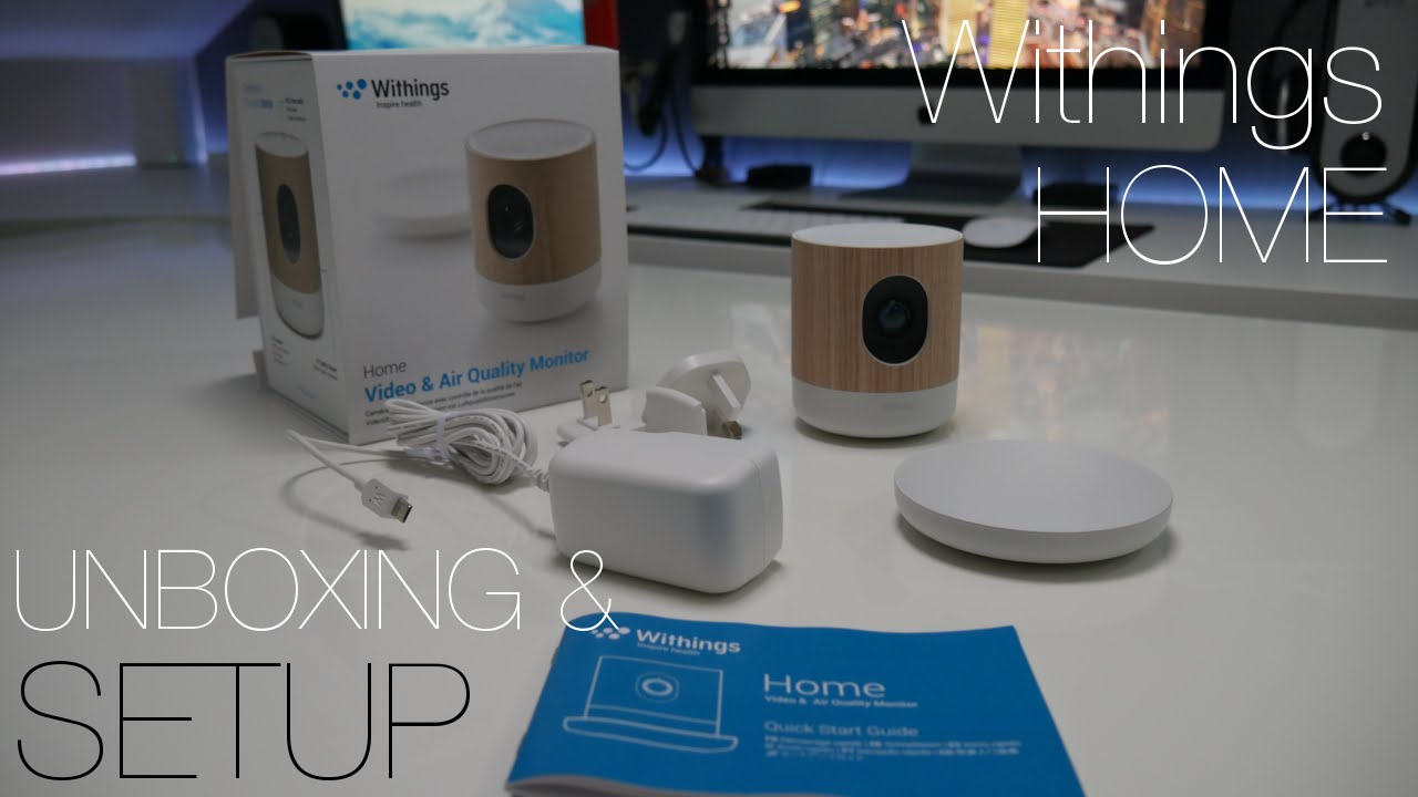 Wonderbaarlijk Withings Home - Unboxing & Setup - YouTube YS-03