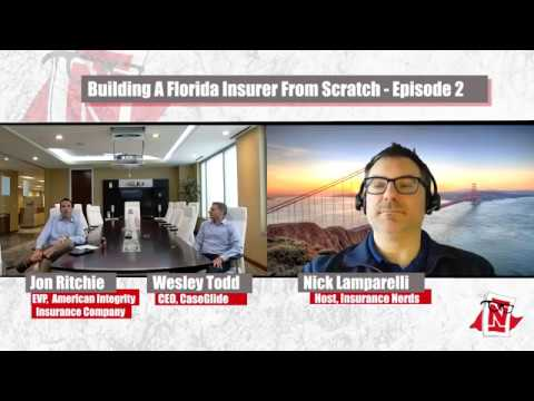 PiR - E152: Starting A Florida Insurance Company From Scratch (Episode 2)