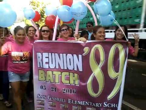 San Gabriel Elementary School REUNION Batch '89