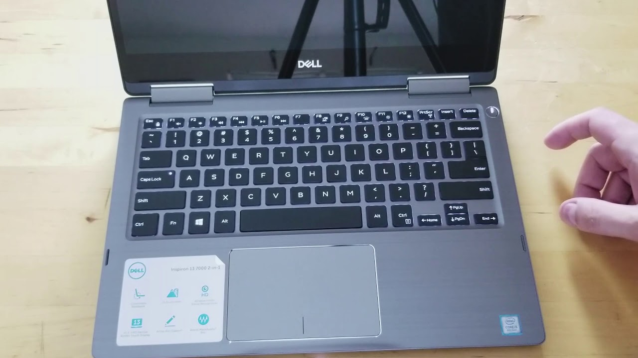Dell Inspiron 13 7373 unboxing and first impressions