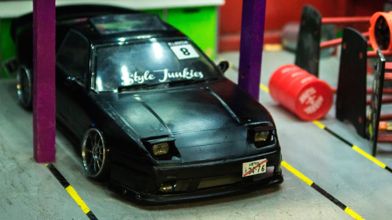 Rc Drift Car Missile Nissan Type X Youtube