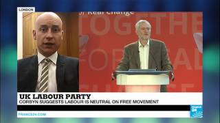 UK - Labour leader Jeremy Corbyn gives first major speech of the year