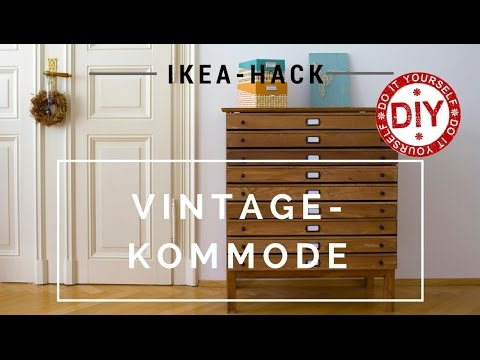 How To Ikea Hack Vintagekommode I Diy Inspirationen Homemade By
