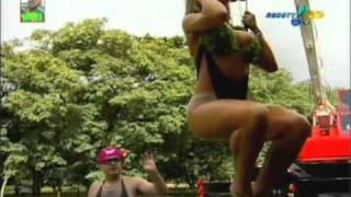 Panicats - Sabrina e as Gostosas testando calcinhas - Pânico na TV