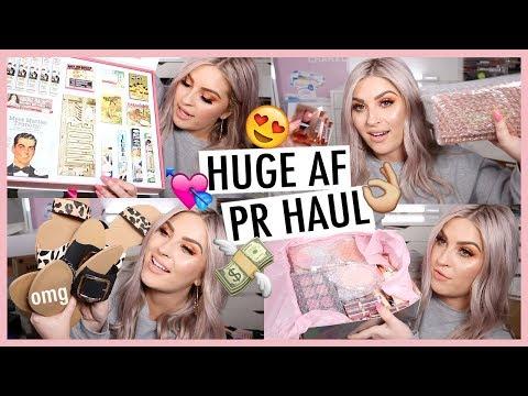 MAKEUP HAUL! 💸 PR Unboxing Haul *Whats New In Makeup?!* 💌