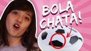 MENSAGEM SECRETA NO 1 min. e 17 seg.!!!!! Unboxing de Brinquedo: Flat Ball Flutuadora 🎁